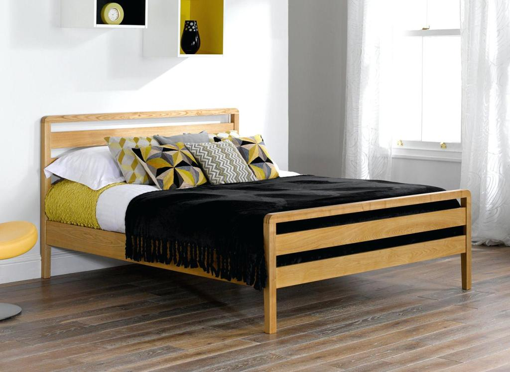 Image of: Wooden Bed Frames Twin