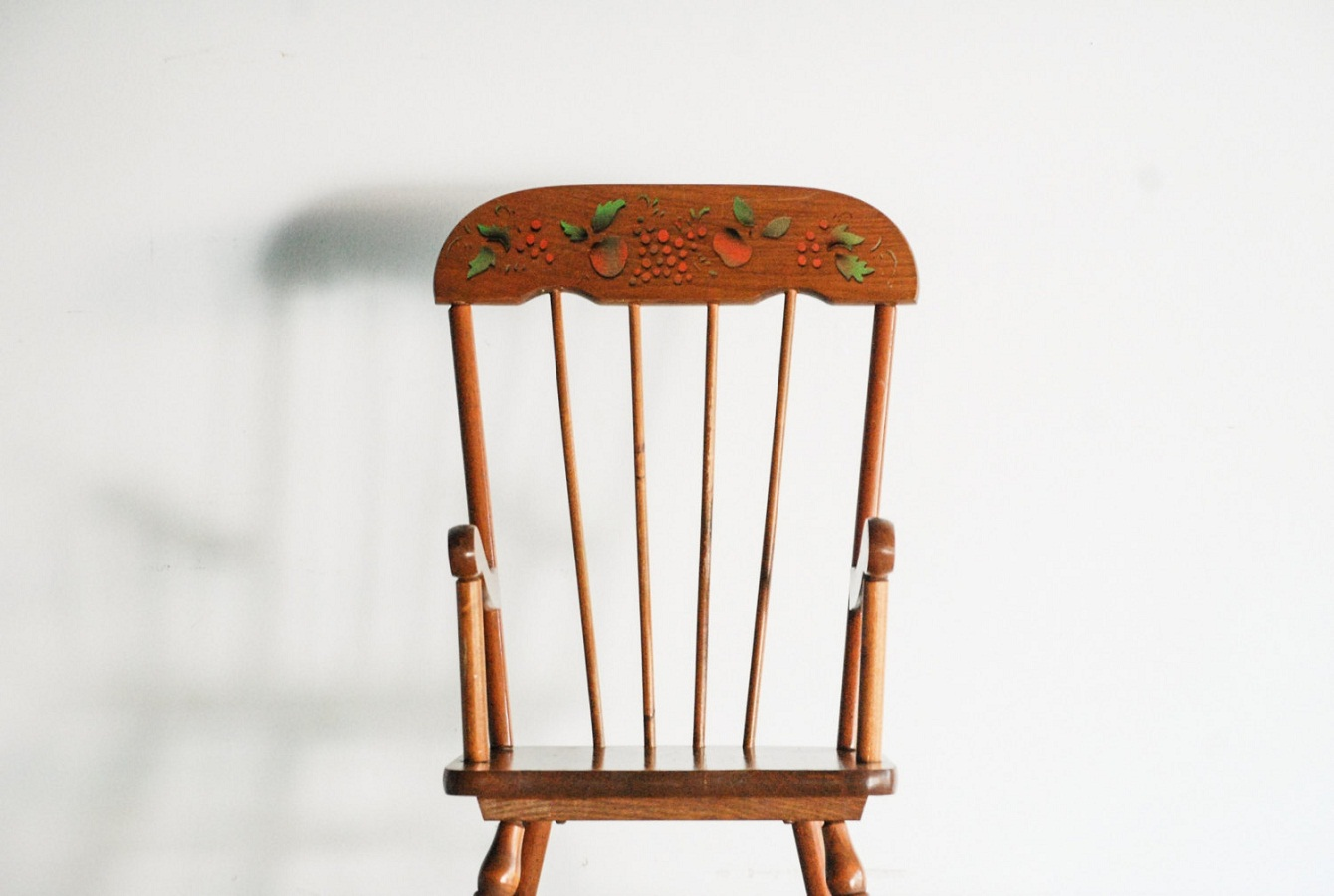 Wooden Childs Rocking Chair
