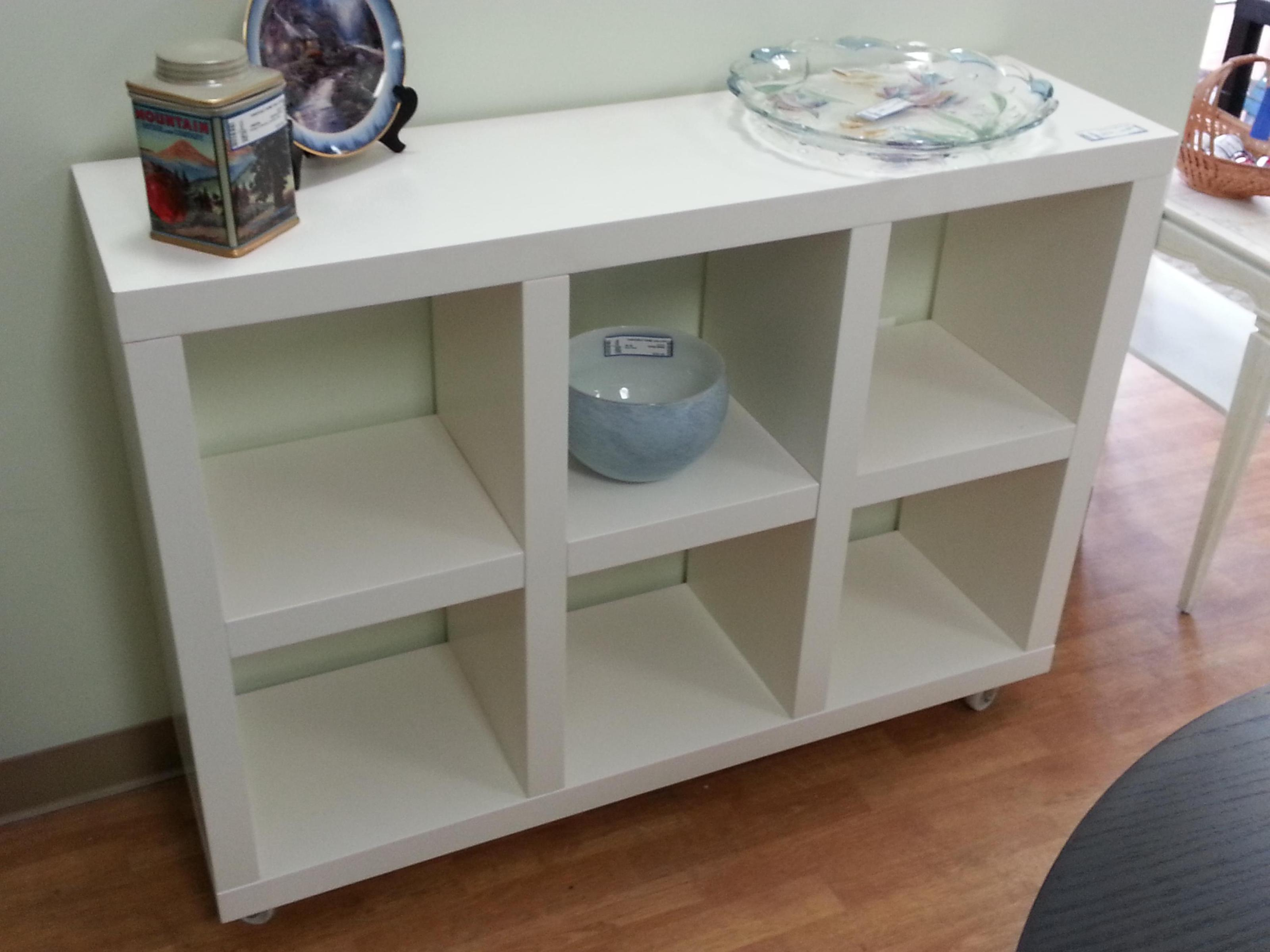Image of: Wooden Cube Shelving Unit
