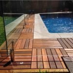Wooden Patio Deck Tiles