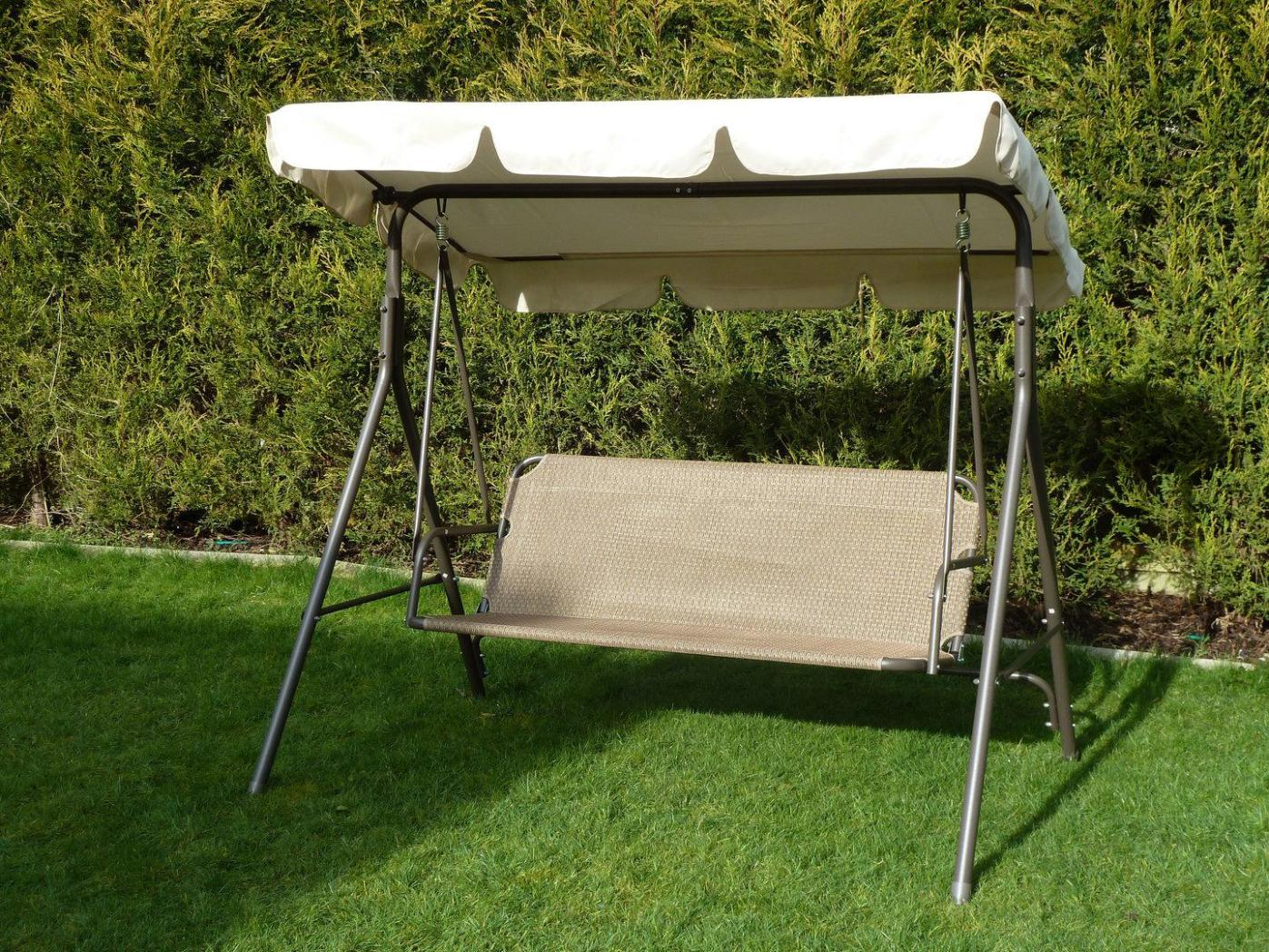 Image of: Yard Swing Canopy Replacement