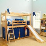 Youth Loft Bed With Slide
