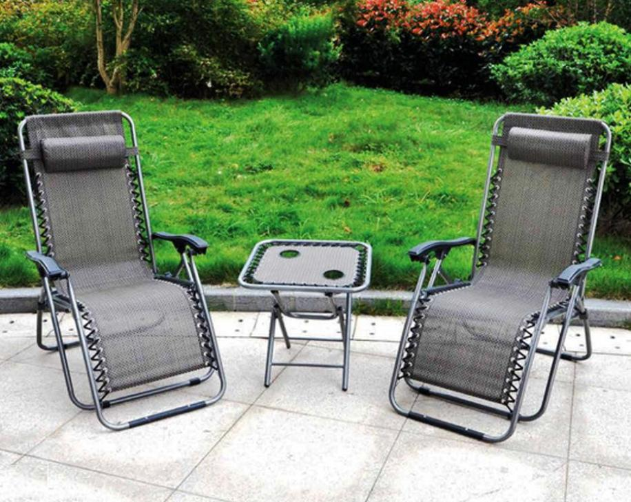 Image of: Zero Gravity Outdoor Recliner Lounge Chair
