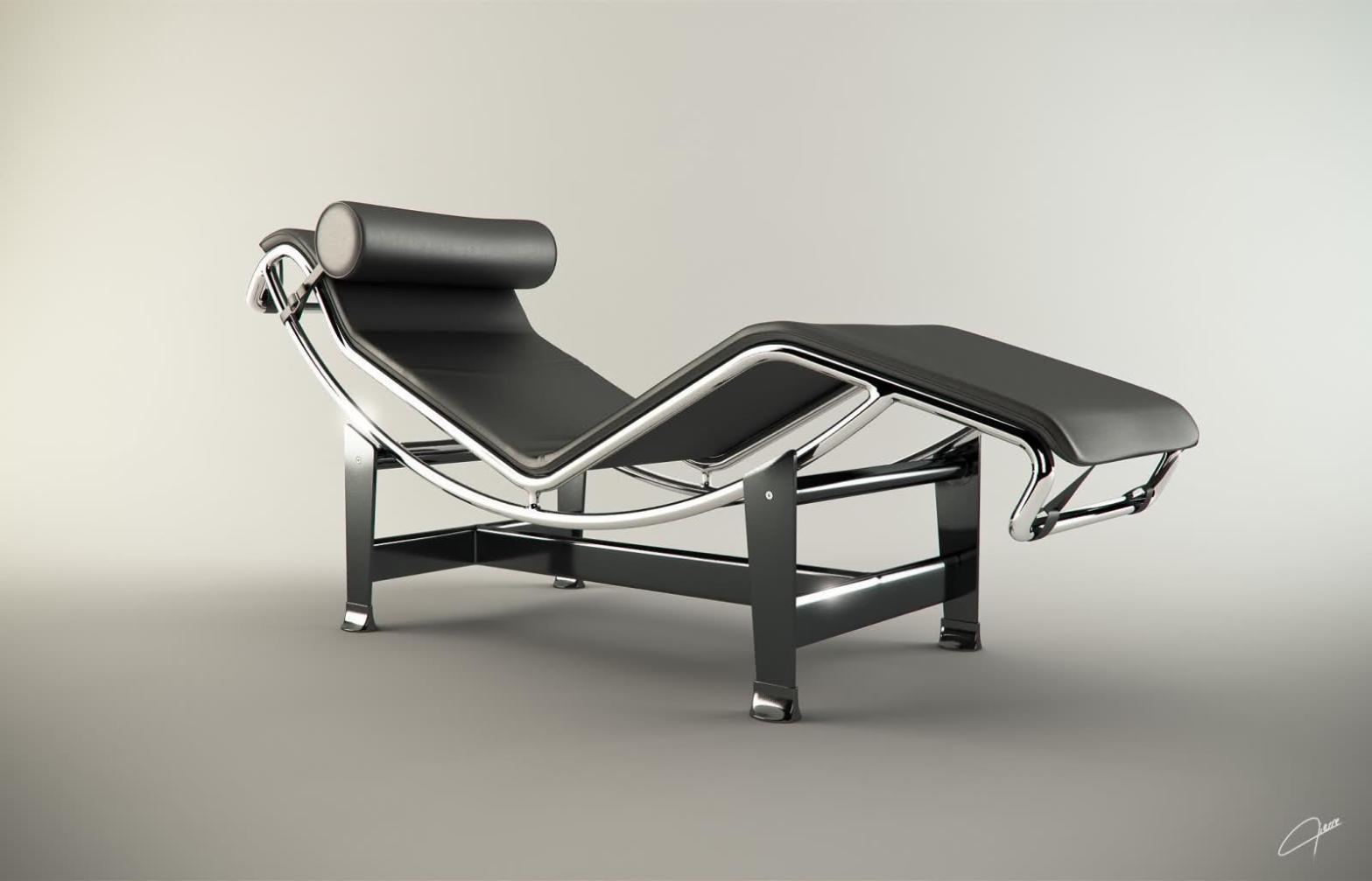 Image of: Zero Gravity Reclining Lounge Chair