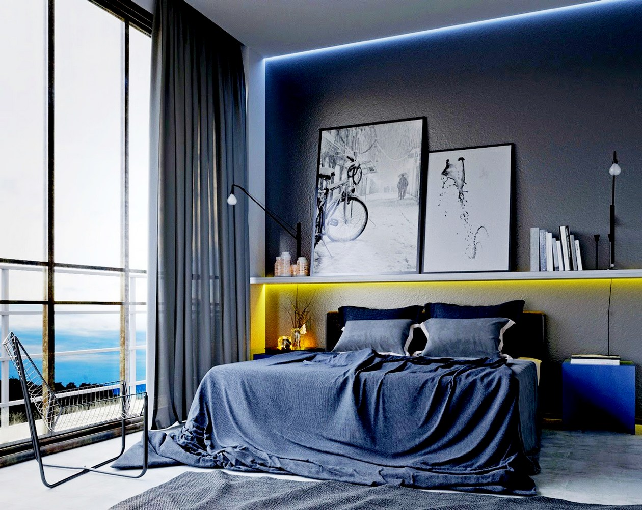 Image of: awesome Mens bedroom ideas