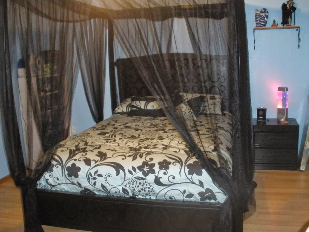 Image of: canopy bed frame toronto