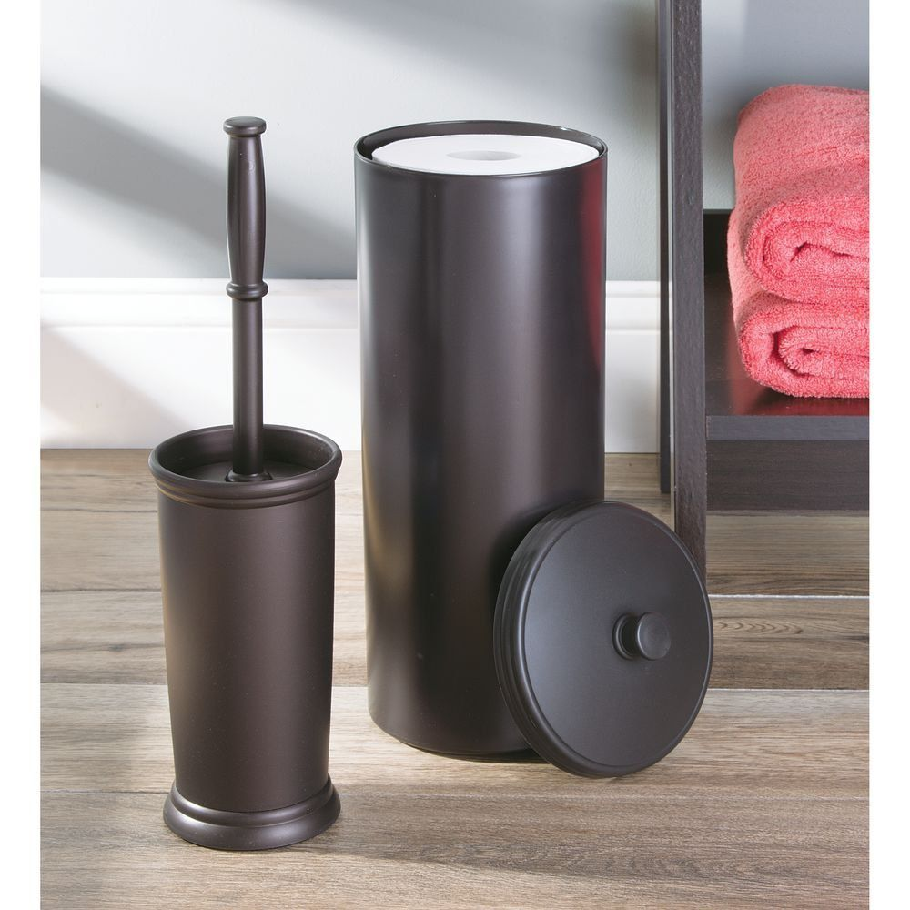 Image of: classic free standing toilet paper holder