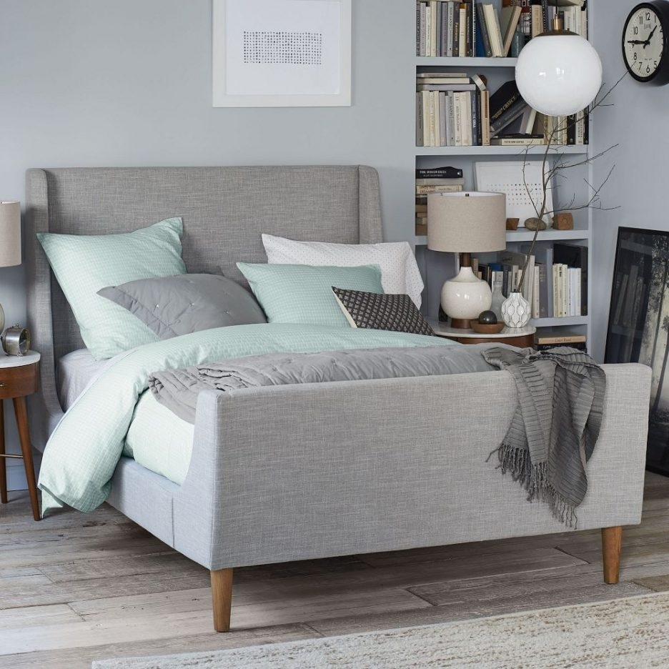 Image of: Latest Tufted Headboards