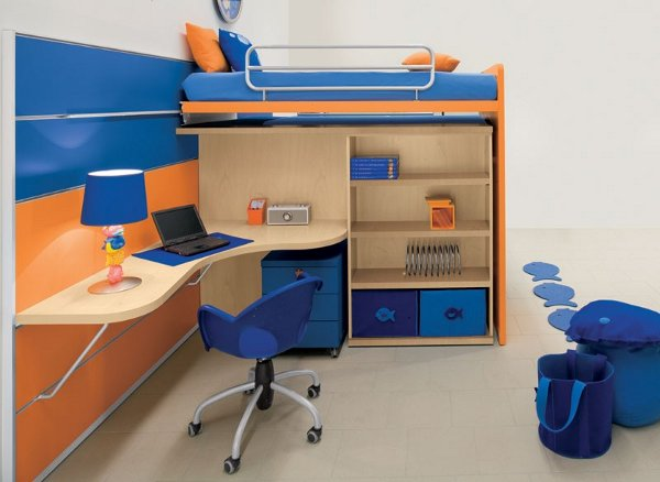 Image of: modern kids bedroom furniture sets