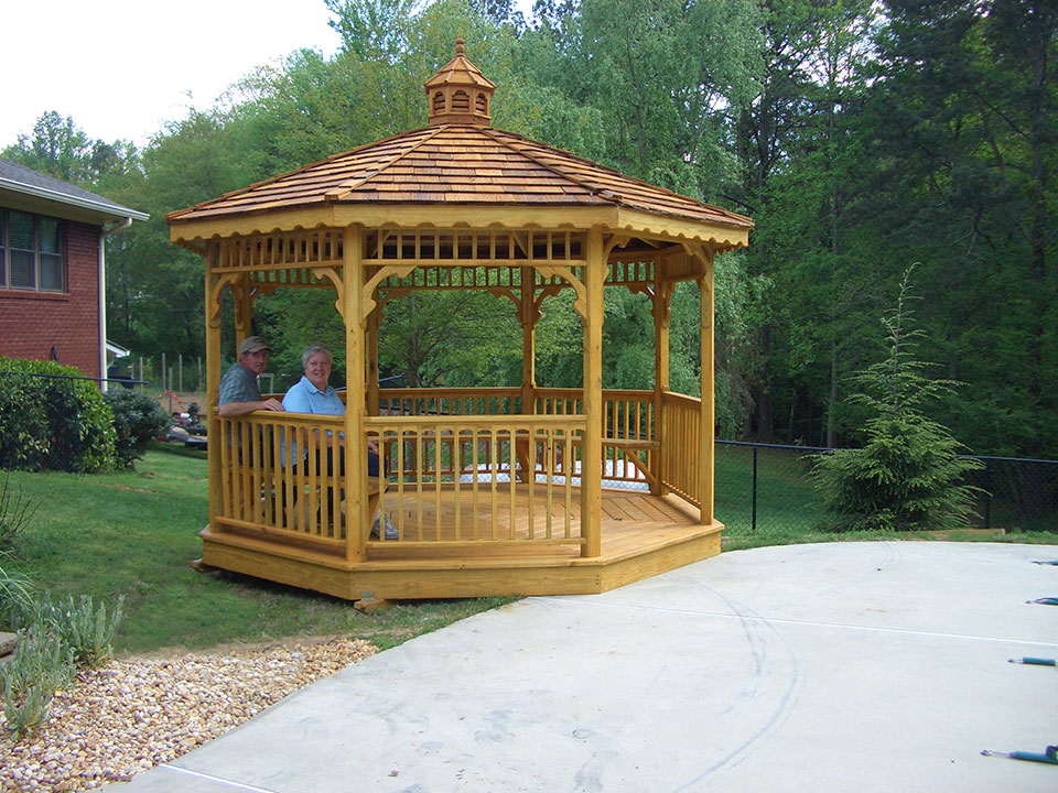 12x12 Gazebo Octagon