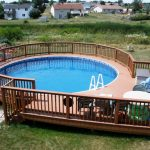 Above Ground Pool Fence Wood