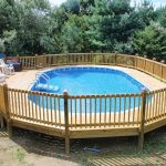 Above Ground Pool Fence Wooden
