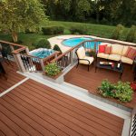Above Ground Pools with Decks Furniture