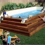 Above Ground Pools with Decks Kids