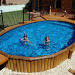 Above Ground Pools with Decks Shapes