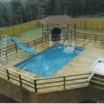 Above ground pool deck designs Cost