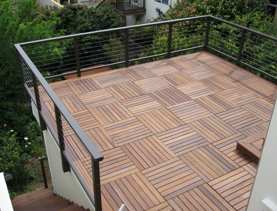 Affordable Teak Deck Tiles
