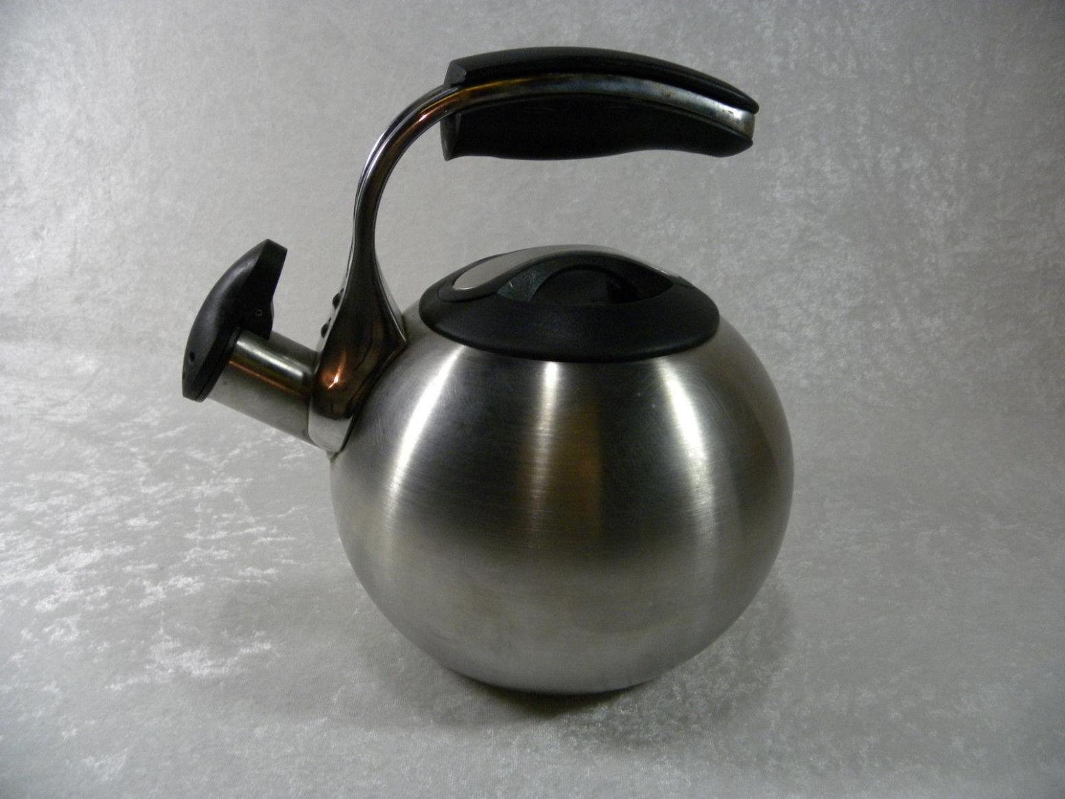 Image of: All Clad Tea Kettle Stainless Steel