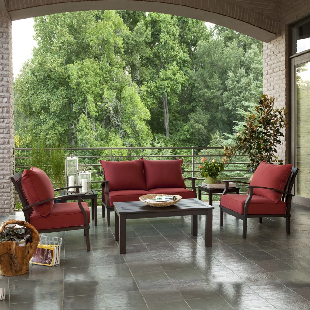 Image of: Allen Roth Patio Furniture Gatewood Conversationals