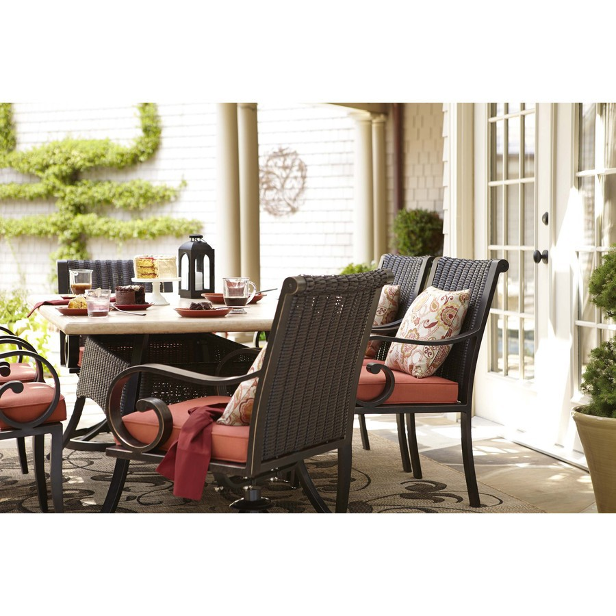 Image of: Allen Roth Patio Furniture Ideas