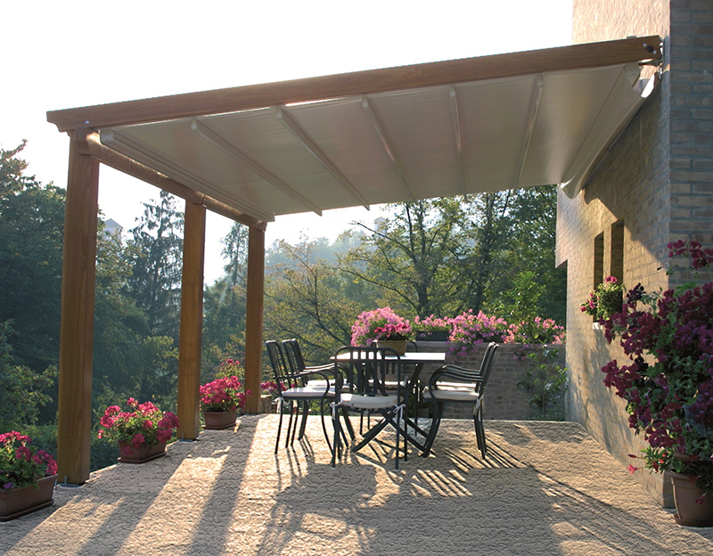 Image of: Amazing Deck Awning