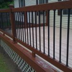 Amazing Metal Balusters For Deck