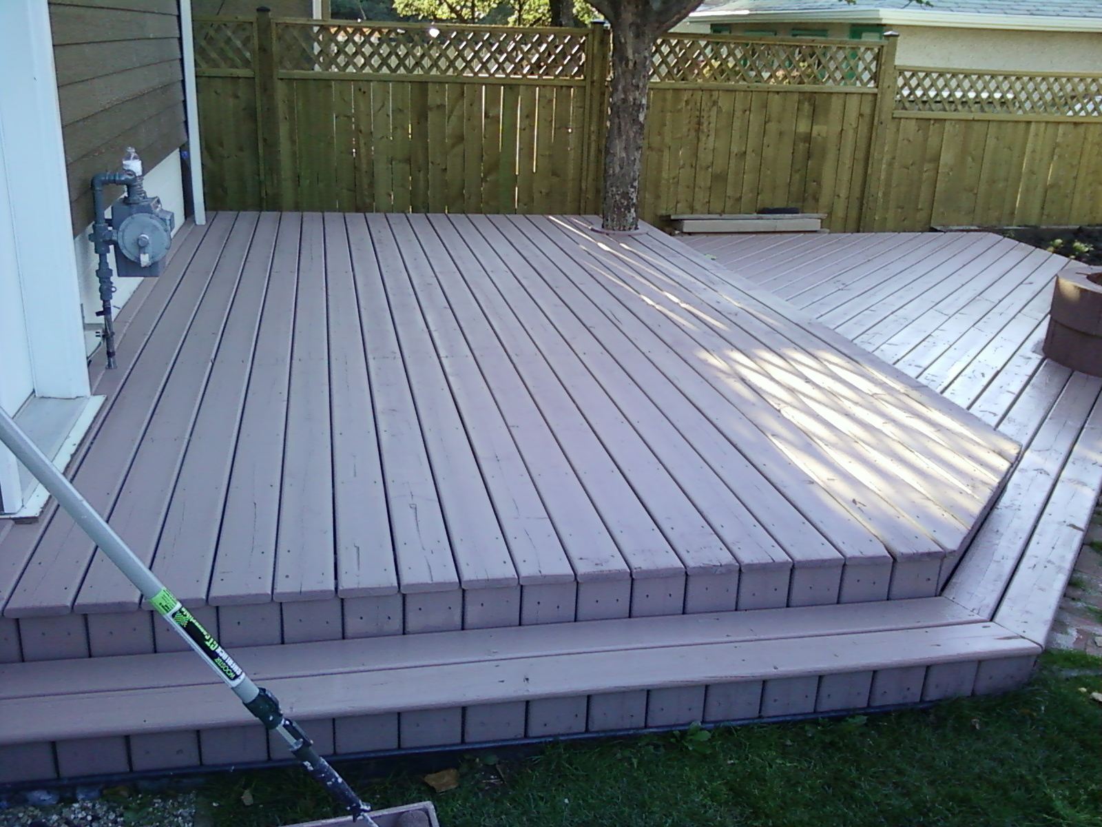 Image of: Amazing Solid Deck Stain