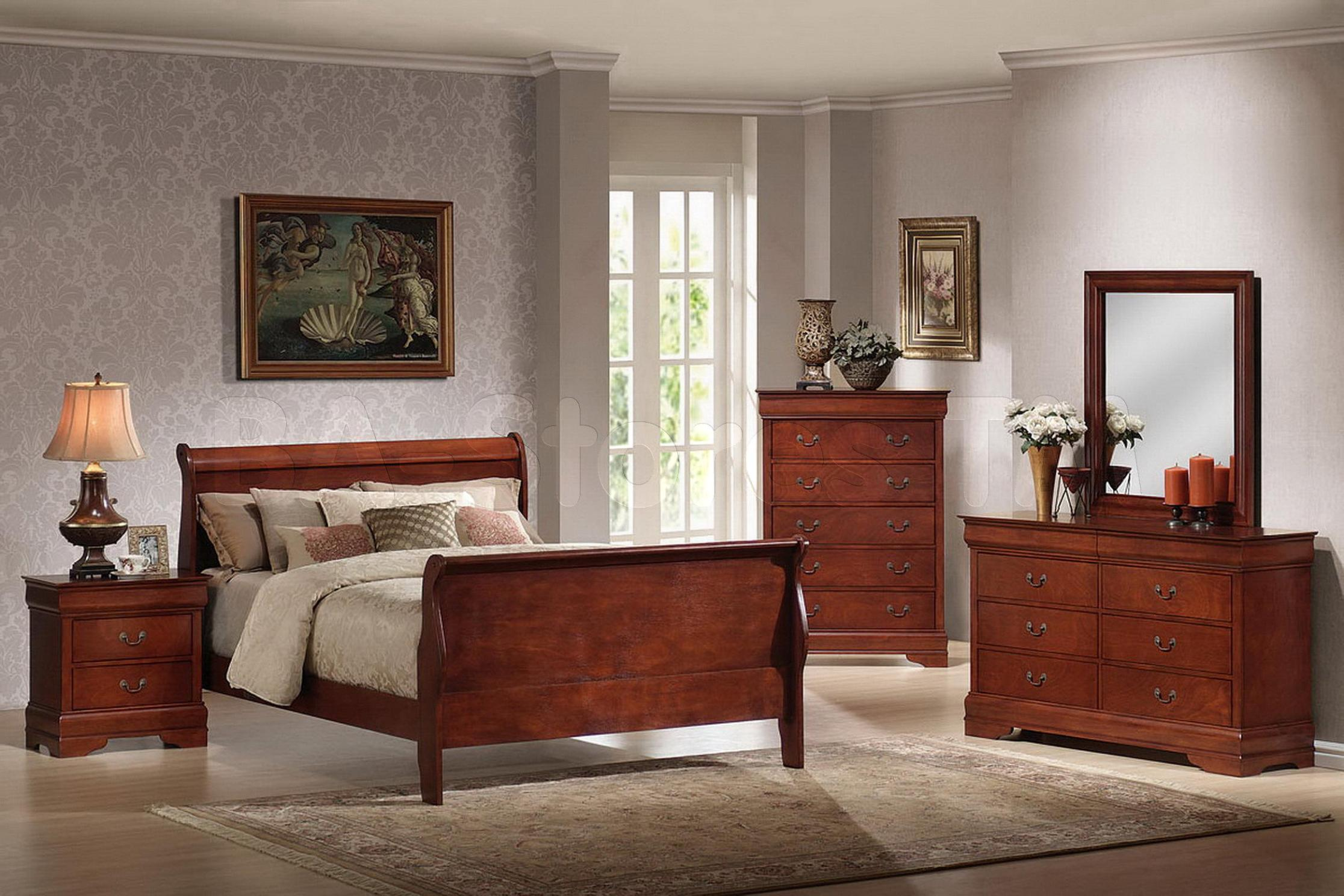 Image of: Antique Cherry Wood Dressers