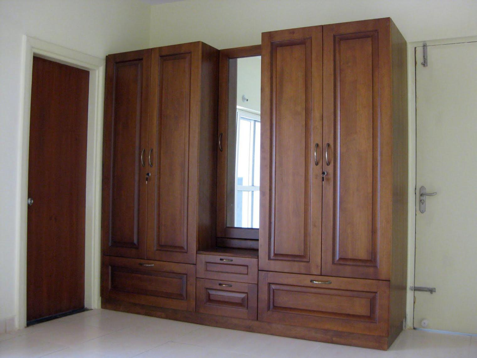 Image of: Antique Wardrobe Armoire