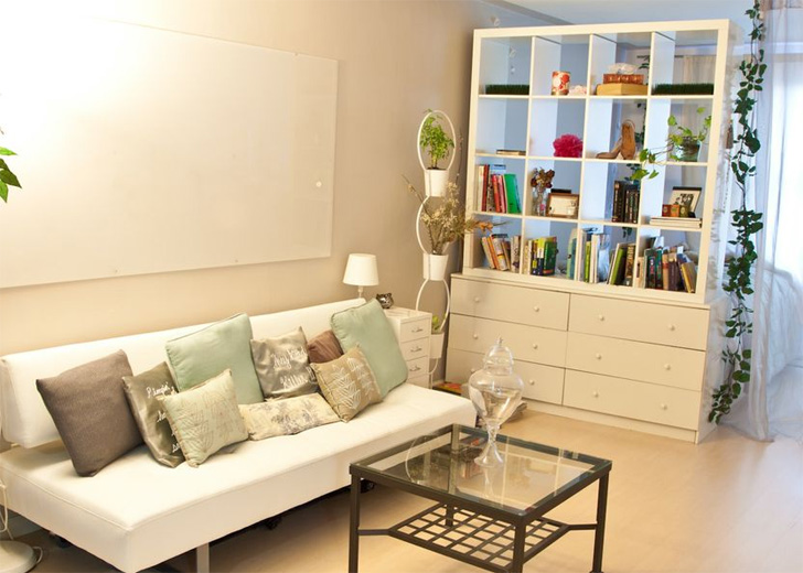 Image of: Argos room divider bookcase