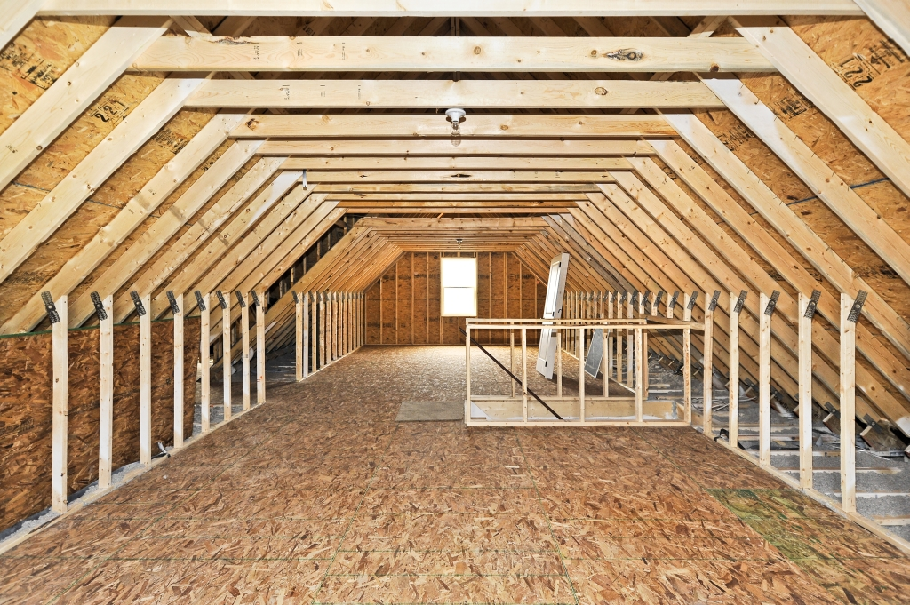 Image of: Attic Decking Solutions