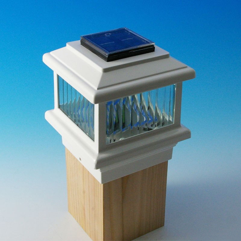 Image of: Aurora Solar Deck Post Caps