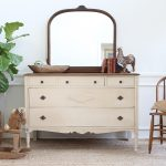 Awesome Antique Dresser With Mirror
