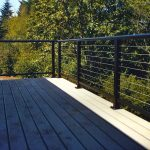 Awesome Cable Deck Railing