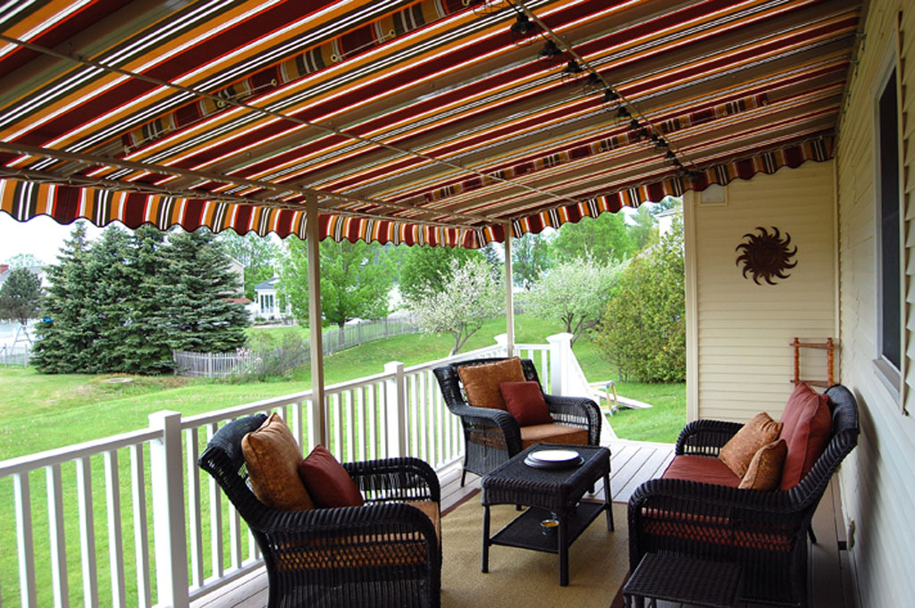 Image of: Awesome Canopies for Decks
