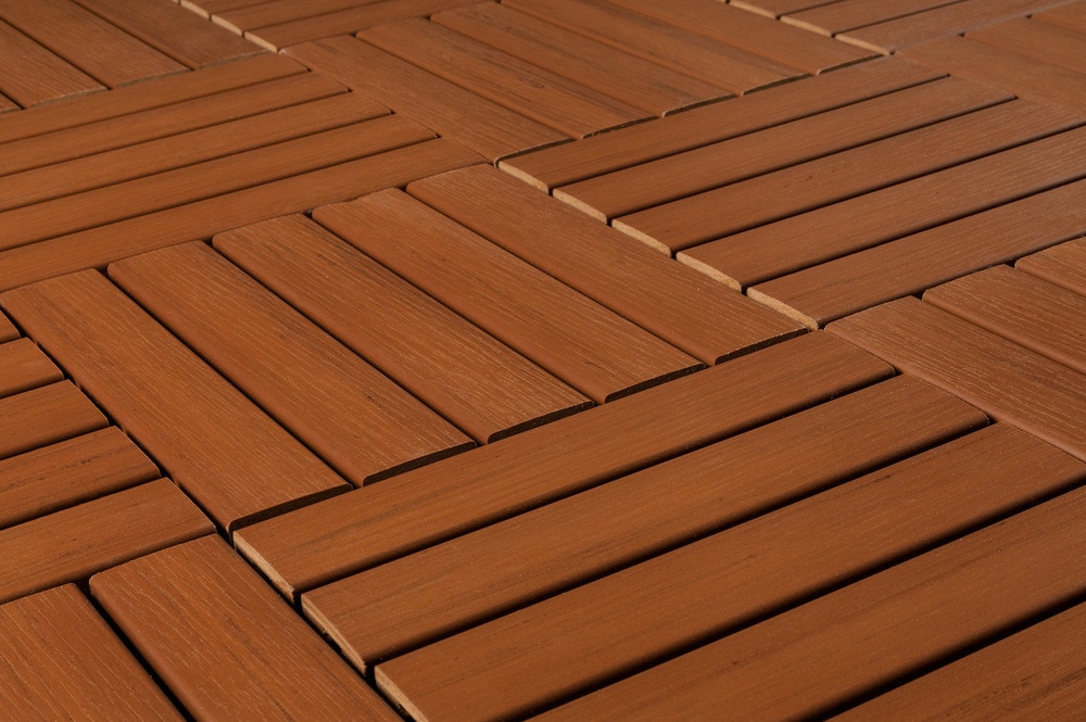 Image of: Awesome Deck Tile