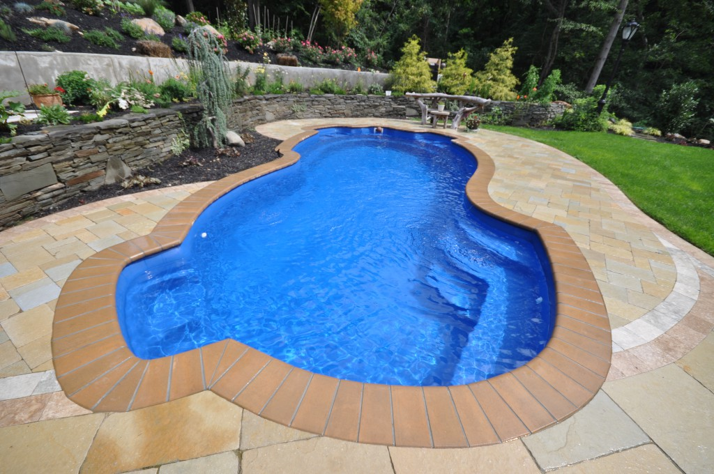 Image of: Awesome Fiberglass Inground Pools