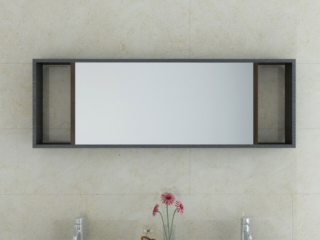 Image of: Awesome Modern Bathroom Mirrors Picture
