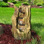 Awesome Outdoor Waterfall Fountain