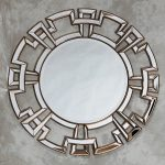 Awesome Silver Wall Mirror Round