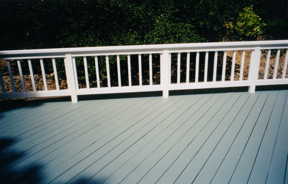 Image of: Awesome Solid Deck Stain