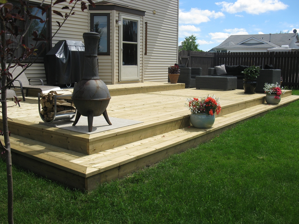 Image of: Back Yard Decks and Patios