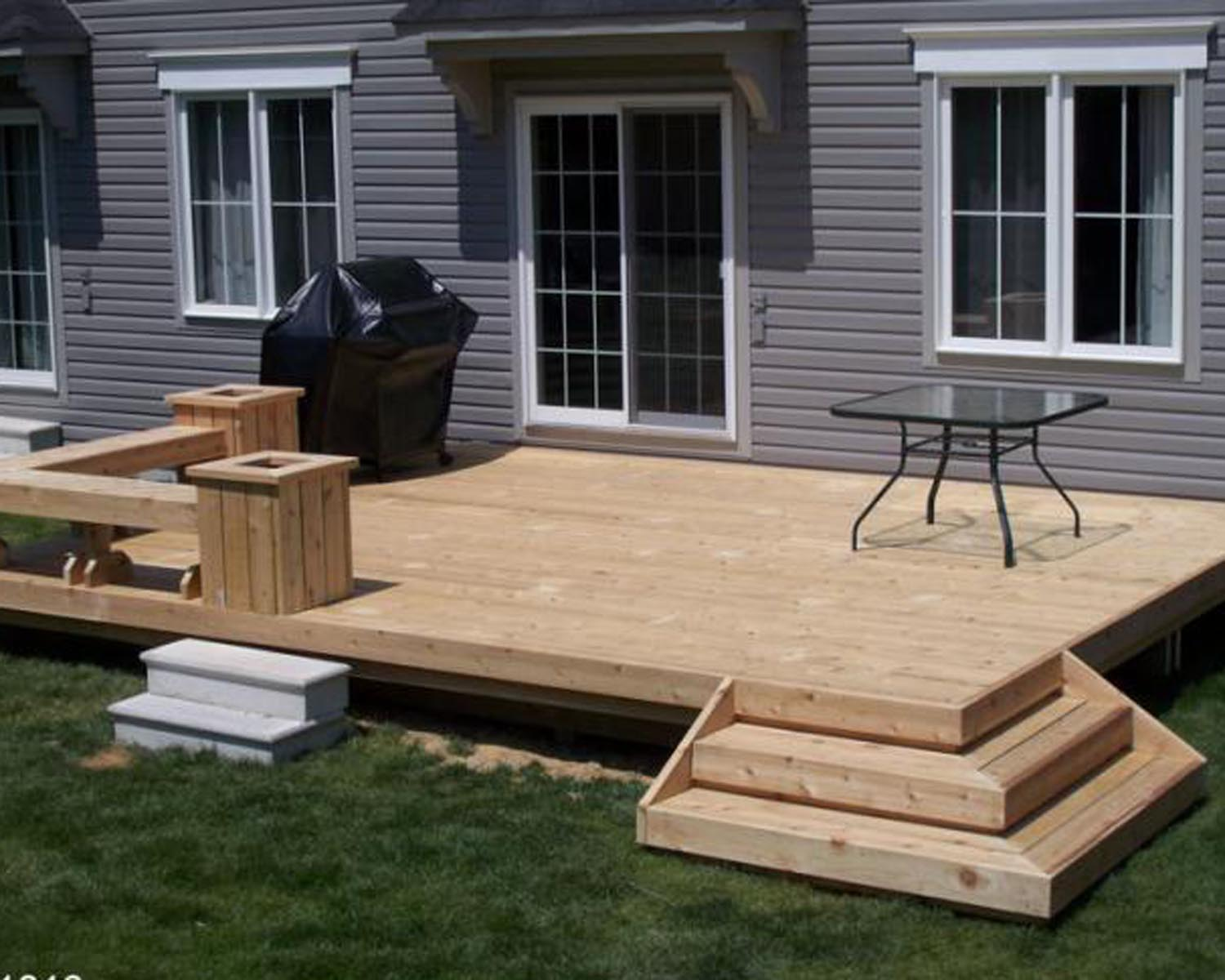 Image of: Back Yard Decks and Porches
