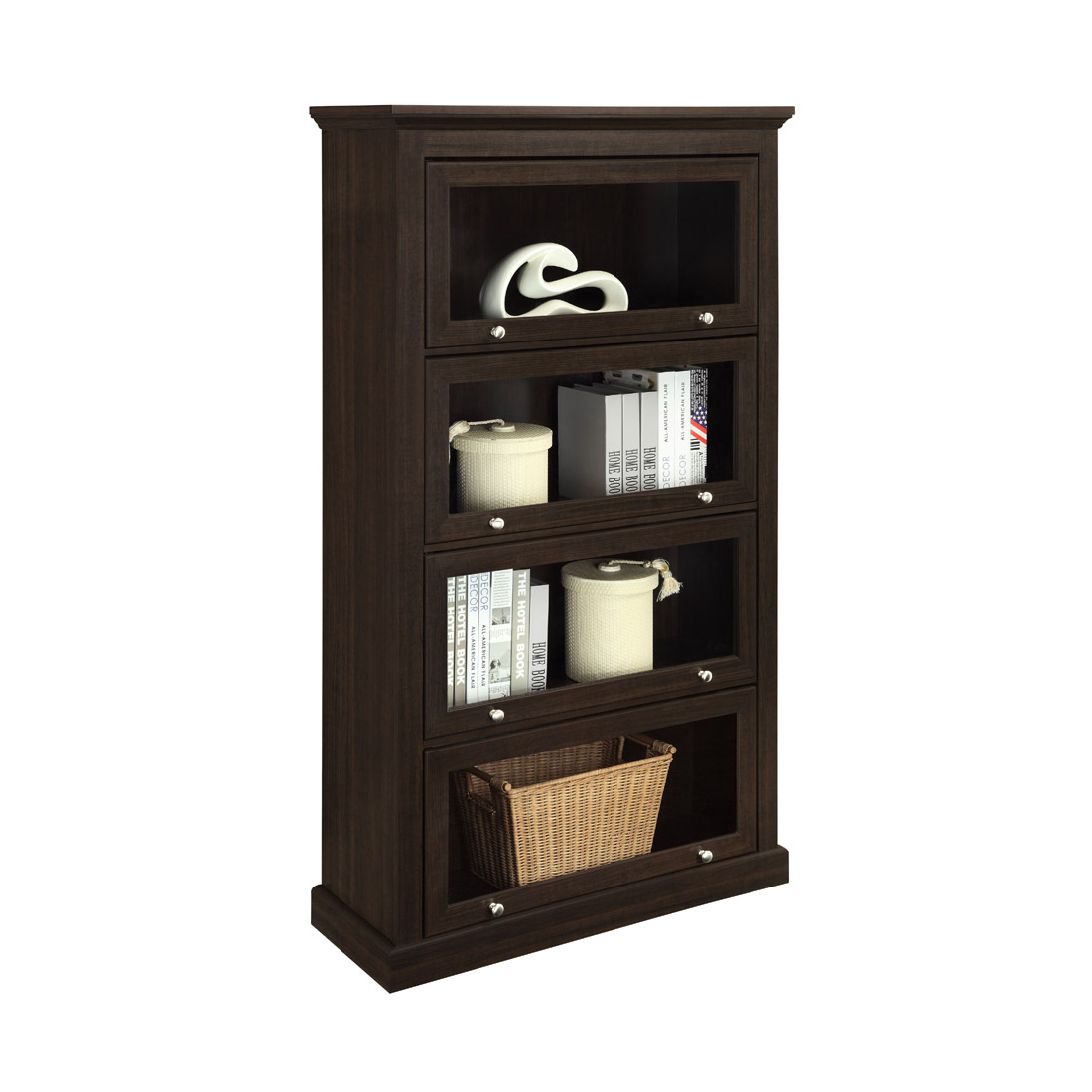 Image of: Barrister Bookcase Style