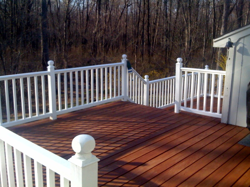 Image of: Beautiful Solid Deck Stain