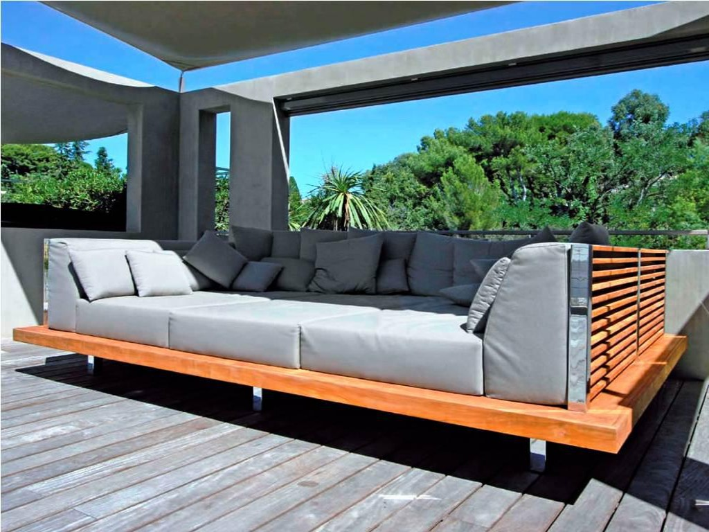 Image of: Beauty Outdoor Daybed