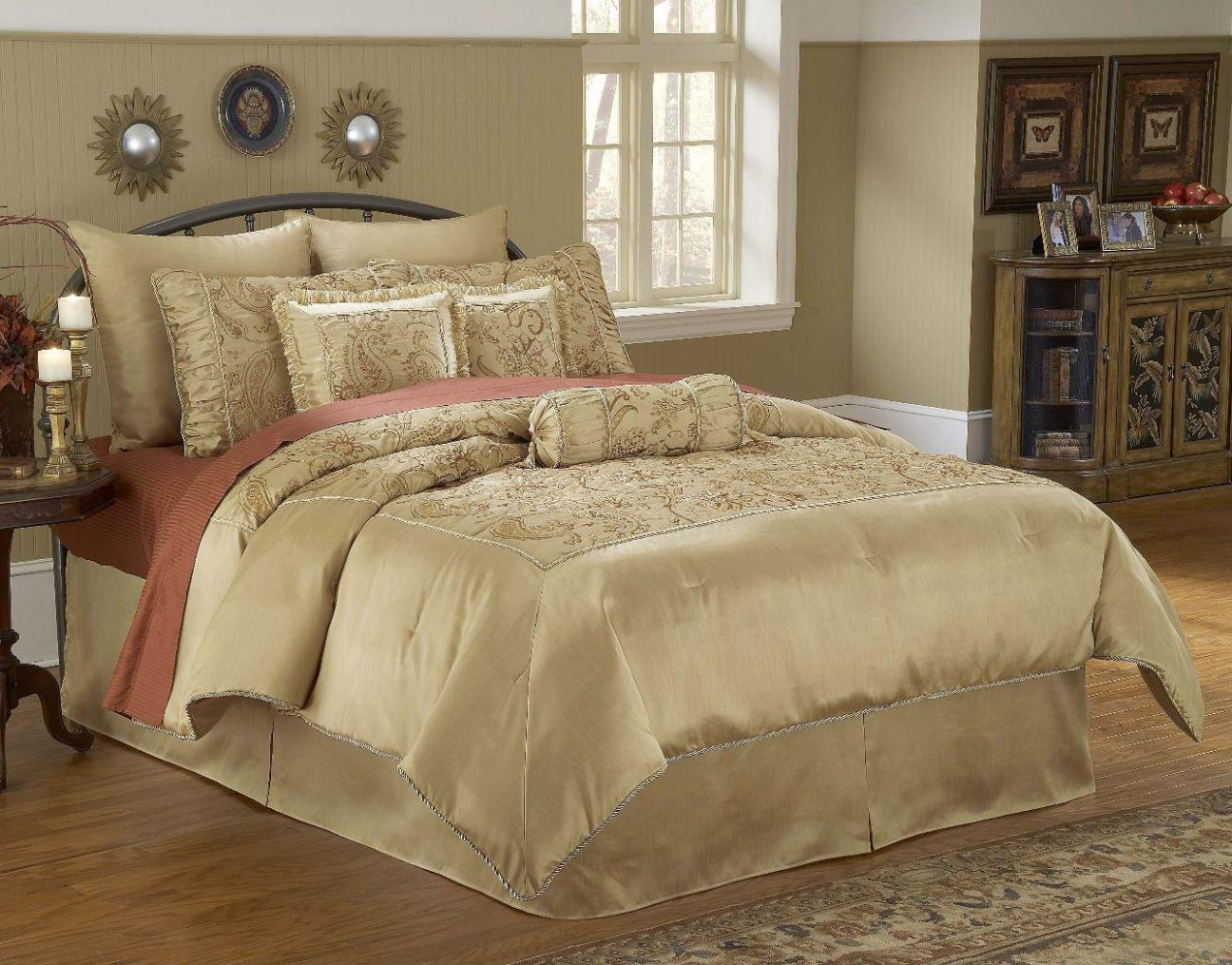 Image of: Bedspread Sets King