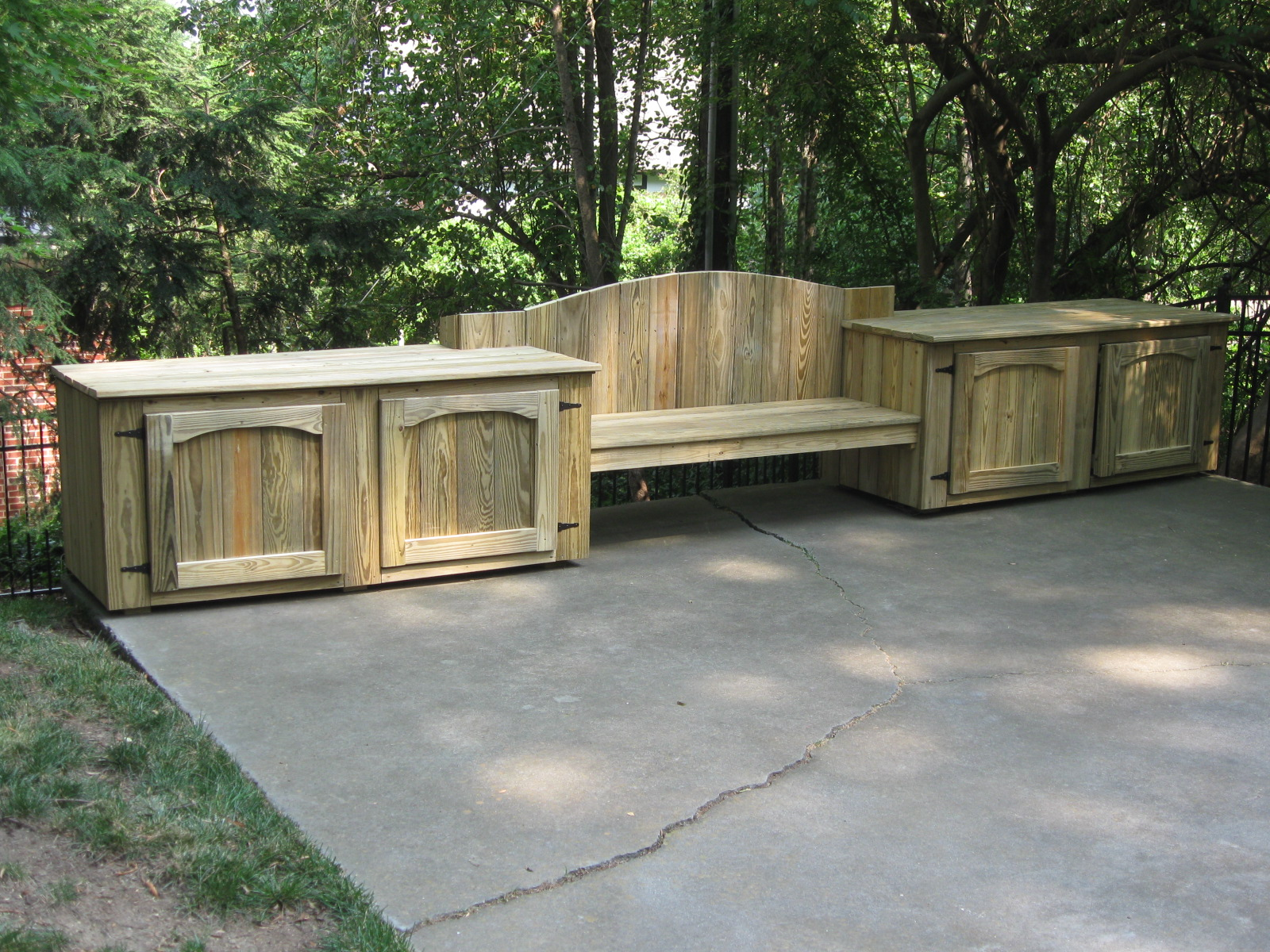 Image of: Bench Deck Box Accessories Photos