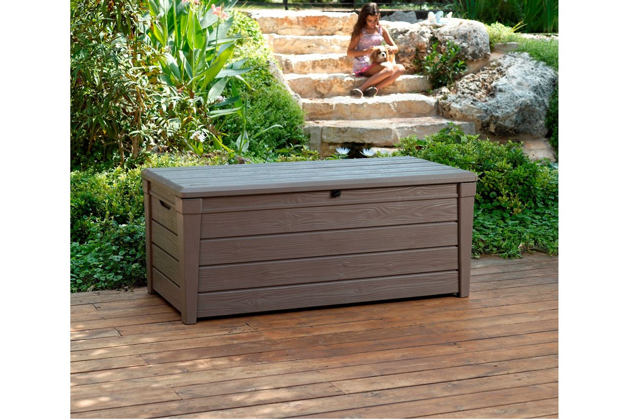 Image of: Bench Deck Box Bench