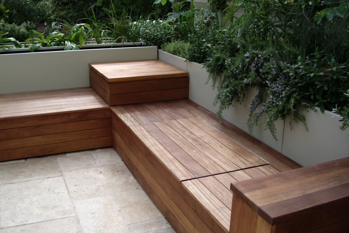 Image of: Bench Deck Box Cheap